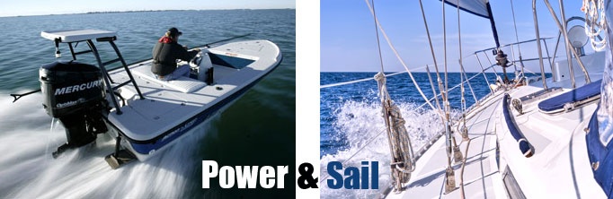 marine services power and sail